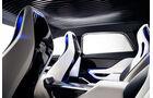 Jaguar C-X17, Rücksitze