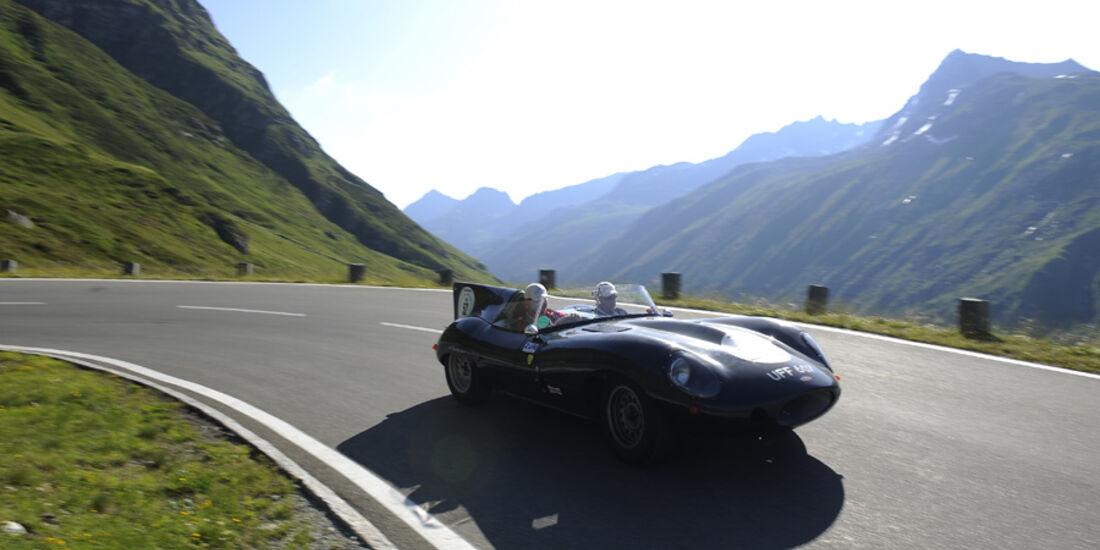 Jaguar D-Type - Silvretta Classic 2010