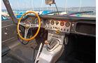 Jaguar E-Type, Cockpit