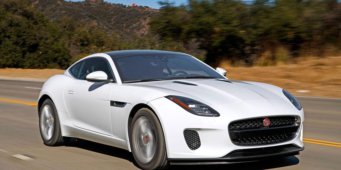 Jaguar F-Type Coupé P340 - Serie - Coupes bis 75000 Euro - sport auto Award 2019