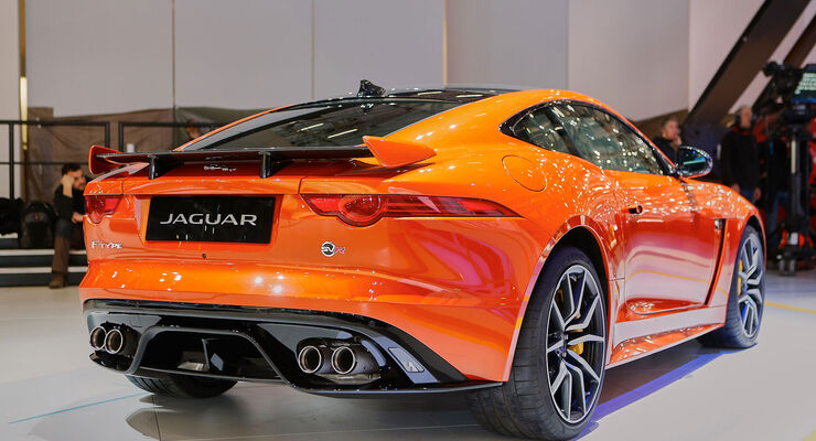 Jaguar F.Type SVR Coupé