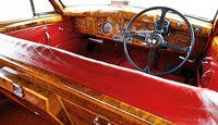 Jaguar MK IX, Cockpit