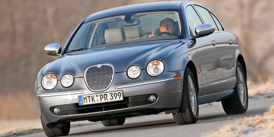 Jaguar S-Type 2.7 D V6, Frontansicht