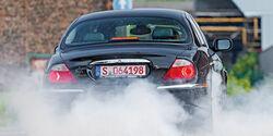 Jaguar S-Type V8, Heckansicht