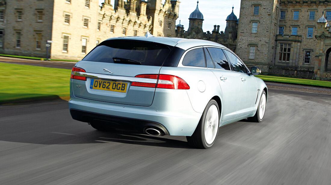 Jaguar XF-Sportbrake, Heckansicht