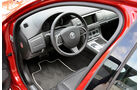 Jaguar XFR, Cockpit, Lenkrad