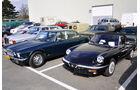 Jaguar XJ, Alfa Spider - Techno Classica 2011 - Privatmarkt