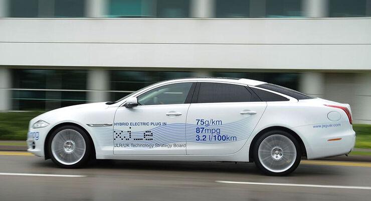 Jaguar XJ e Plugin-Hybrid