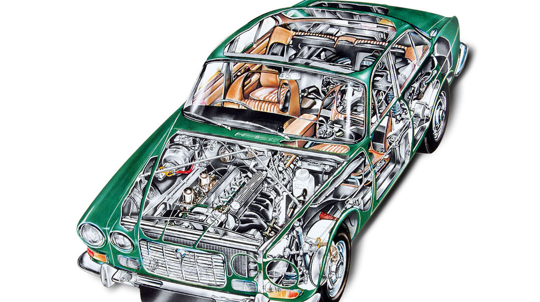 Jaguar XJ6 4.2, Durchsicht