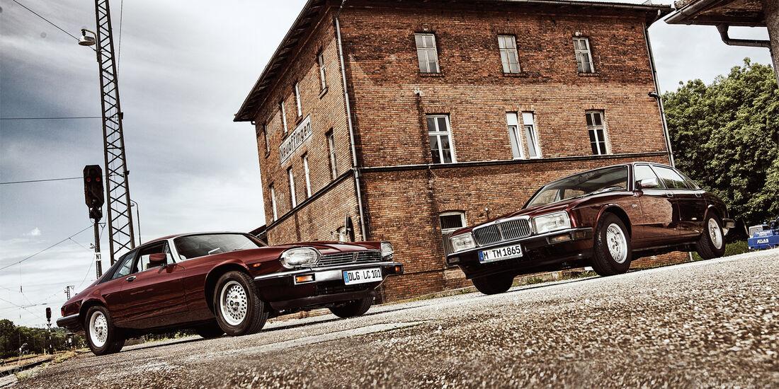 Jaguar XJ6, Jaguar XJ-S 3.6, Frontansicht