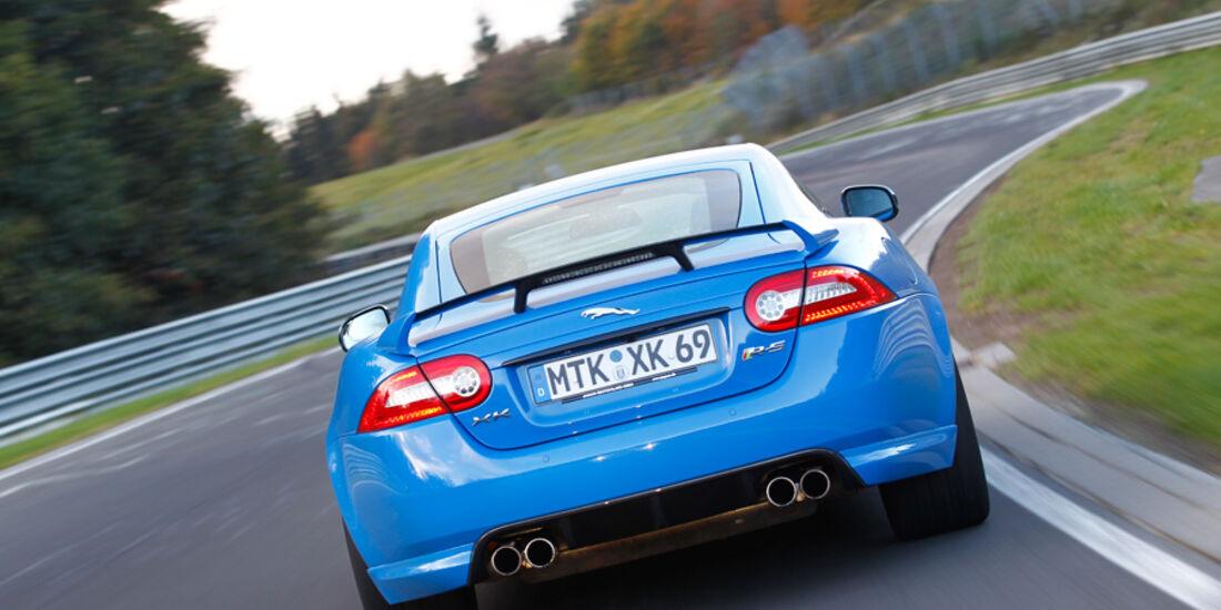 Jaguar XKR-S, Heck