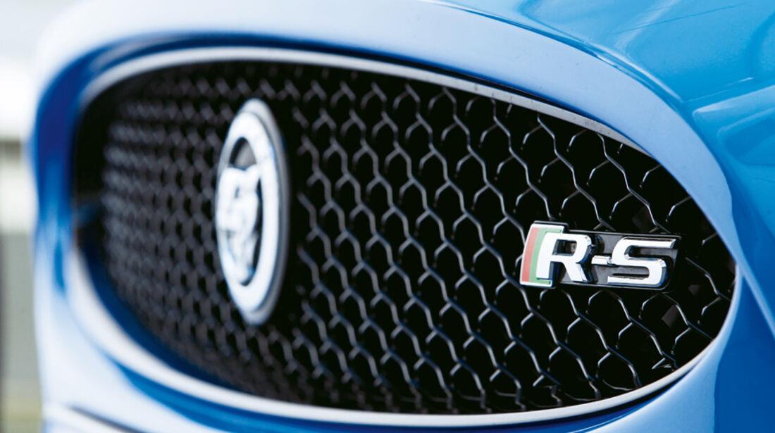 Jaguar XKR-S, Kühlergrill