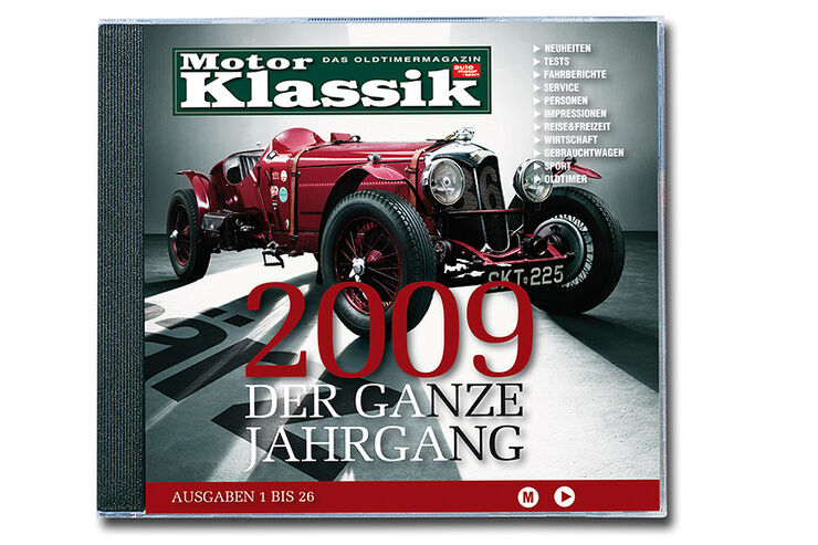 Jahrgangs CD 2009 motorklassik
