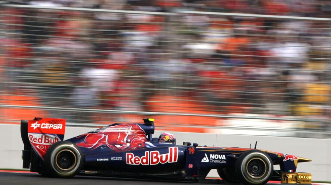 Jaime Alguersuari - GP Indien - Delhi - 29.10.2011