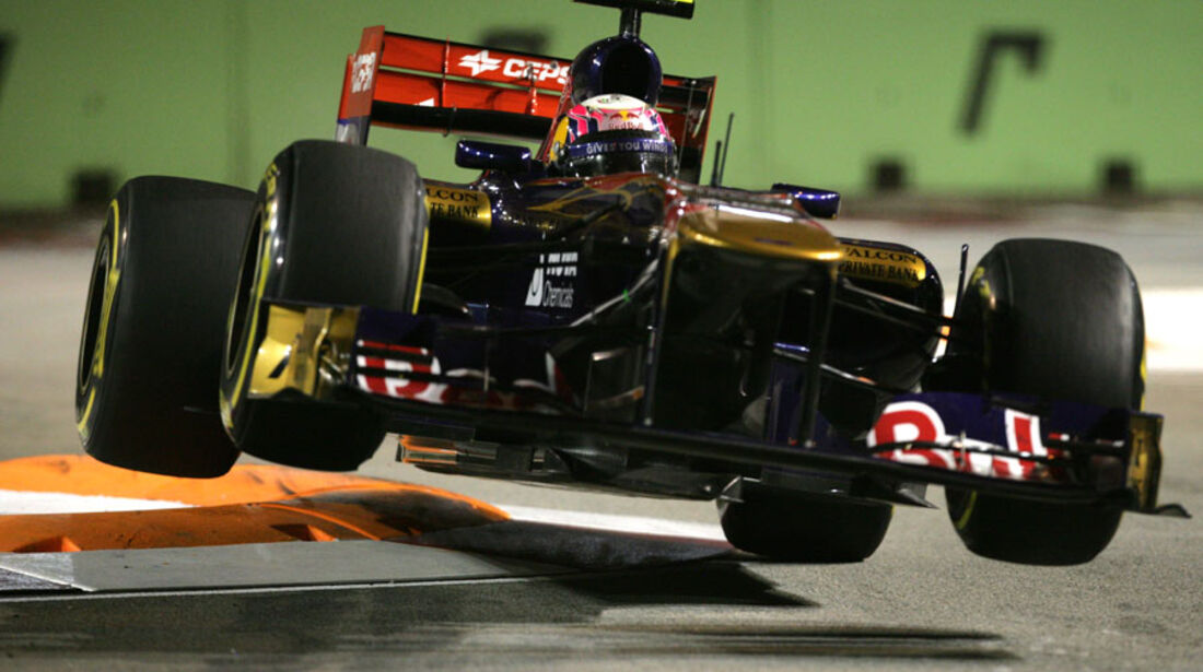Jaime Alguersuari GP Singapur 2011