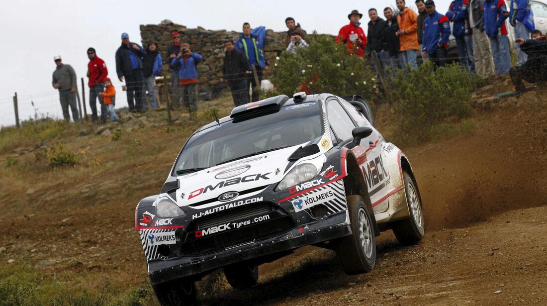 Jari Ketomaa Rallye Portugal 2012
