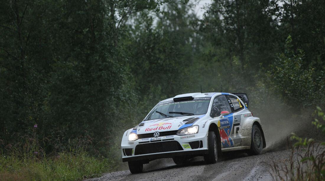 Jari-Matti Latvala - Rallye Finnland 2014 - Tag 2 - VW Polo R WRC
