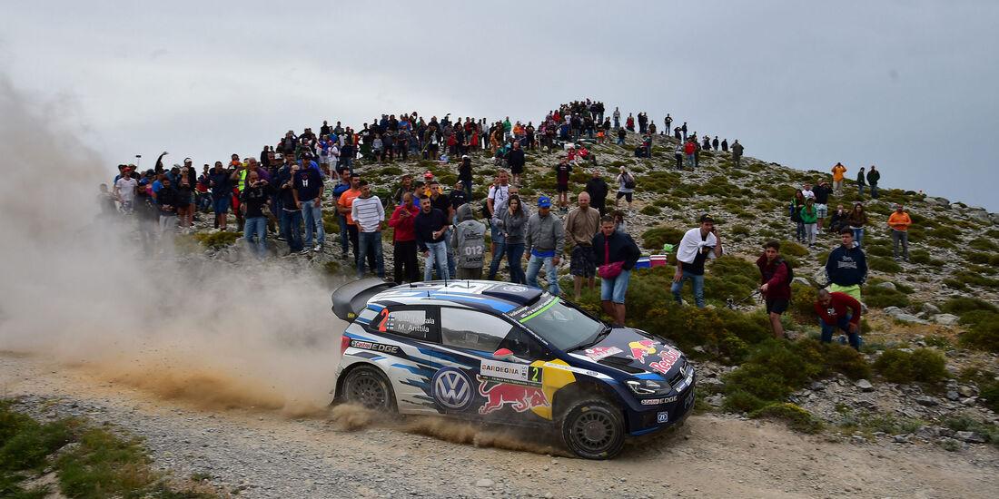 Jari-Matti Latvala - VW - Rallye Sardinien - WRC