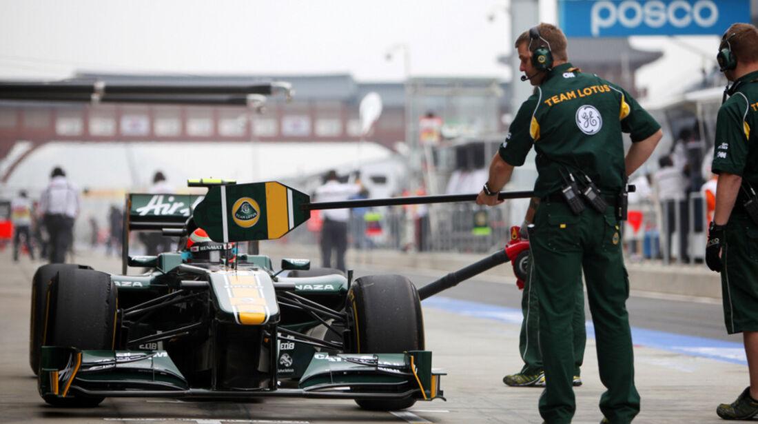 Jarno Trulli Lotus GP Korea 2011