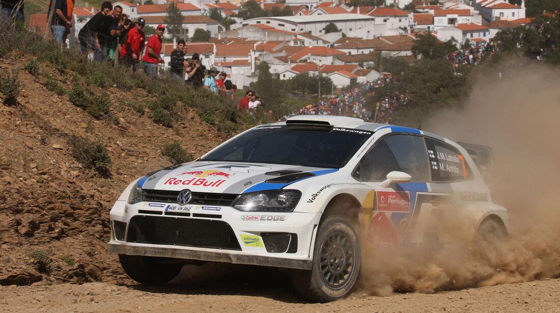 Jarri Matti Latvala Rallye Portugal 2013