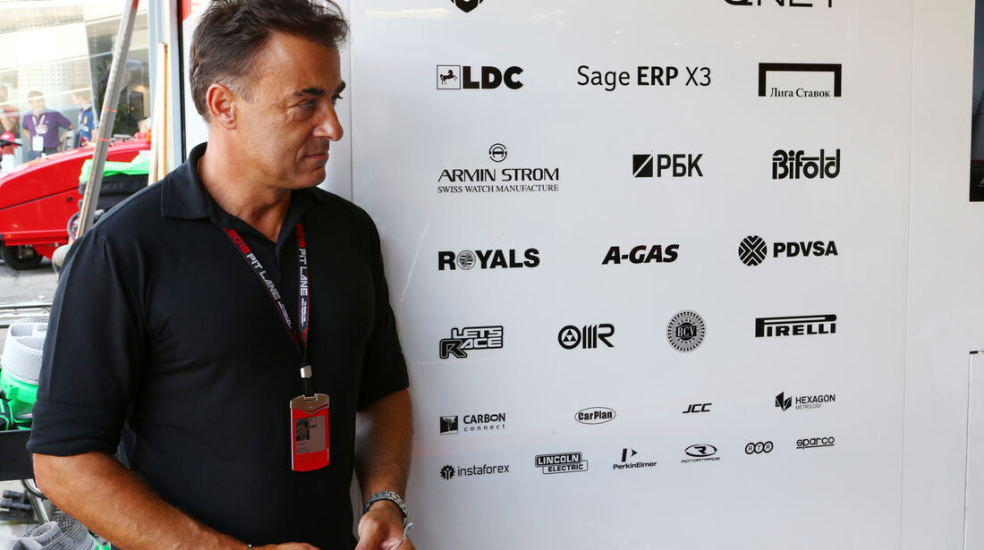 Jean Alesi - Formel 1 - GP Italien - 7. September 2013