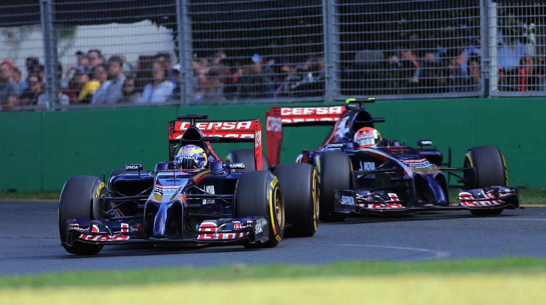 Jean-Eric Vergne - Daniil Kvyat - Toro Rosso - Formel 1 - GP Australien - 16. März 2014