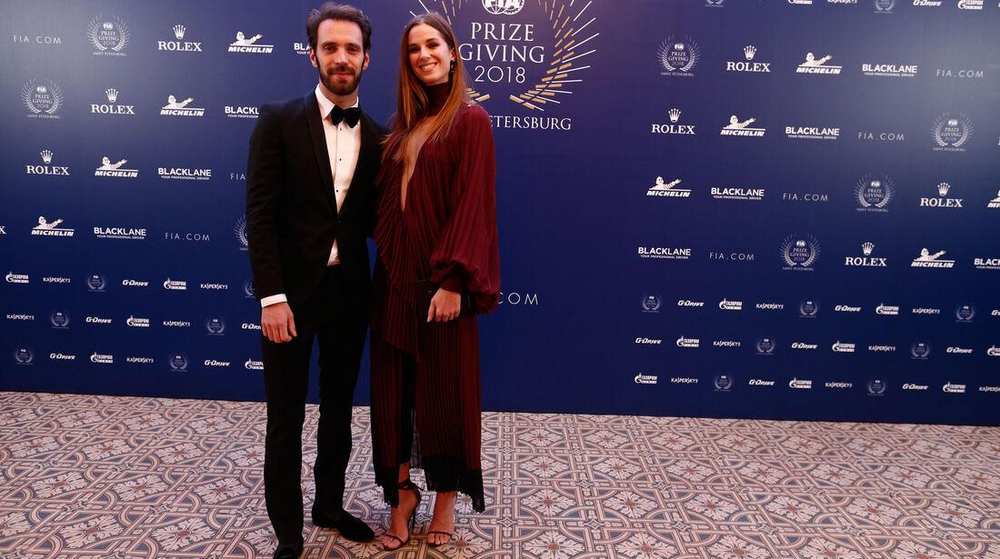 Jean-Eric Vergne - FIA - Preisverleihung - St. Petersburg