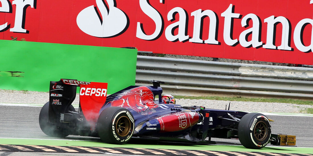 Jean-Eric Vergne - Formel 1 - GP Italien 2013