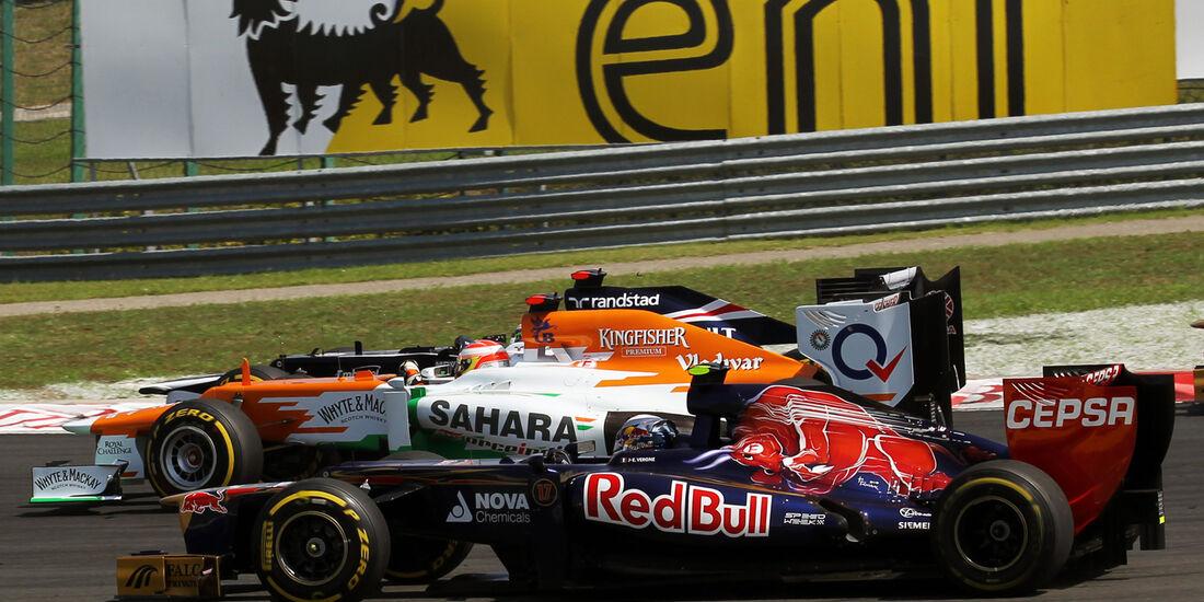 Jean-Eric Vergne GP Ungarn 2012
