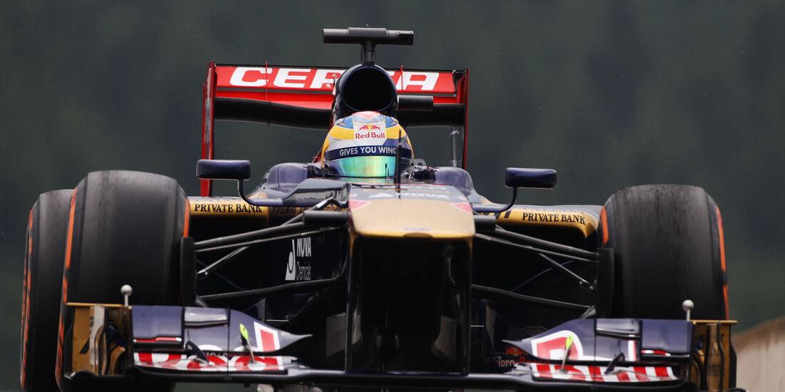 Jean-Eric Vergne - Toro Rosso - Formel 1 - GP Belgien - Spa Francorchamps - 23. August 2013