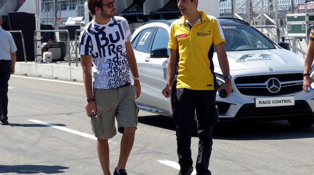 Jean-Eric Vergne - Toro Rosso - Formel 1 - GP Deutschland - Hockenheim - 17. Juli 2014