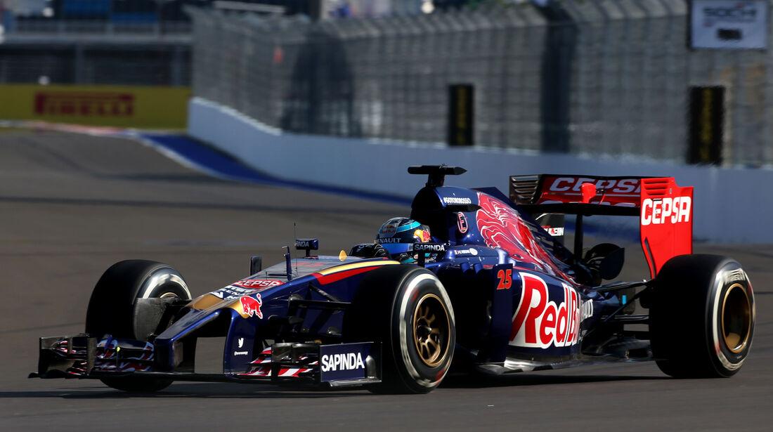 Jean-Eric Vergne - Toro Rosso - Formel 1 - GP Russland - 10. Oktober 2014