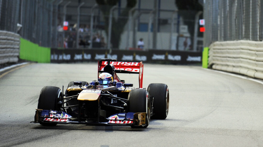 Jean-Eric Vergne - Toro Rosso - Formel 1 - GP Singapur - 20. September 2013