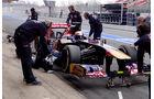 Jean-Eric Vergne - Toro Rosso - Formel 1 - Test - Barcelona - 21. Februar 2013
