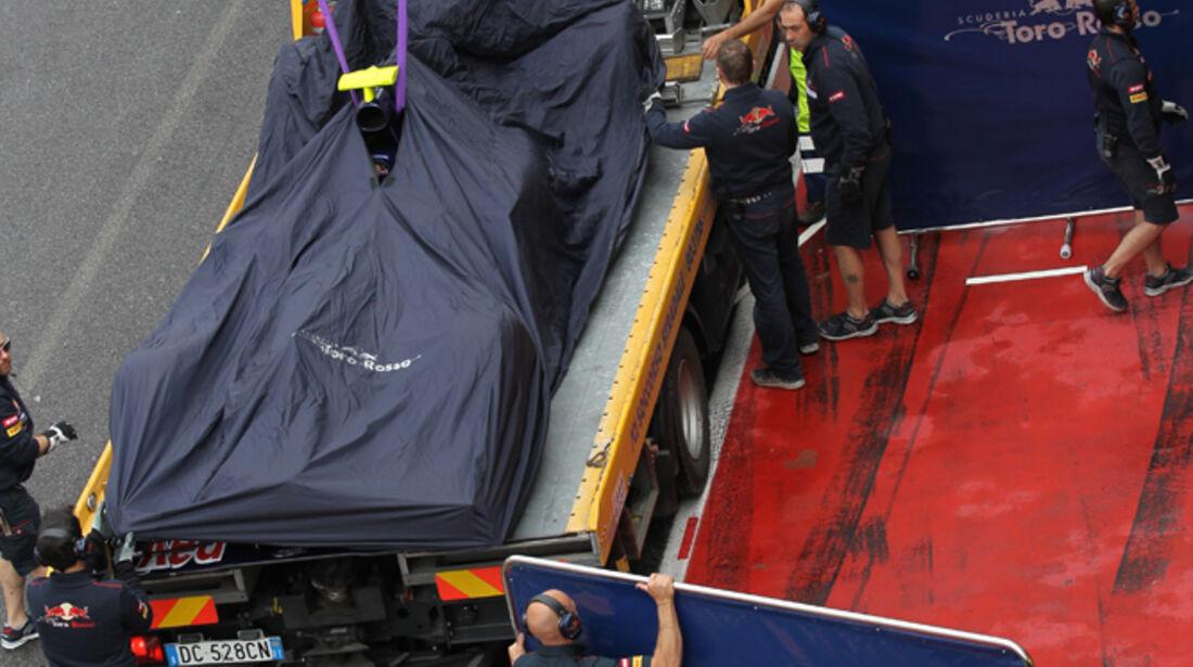 Jean-Eric Vergne - Toro Rosso - Formel 1-Test - Mugello - 1. Mai 2012