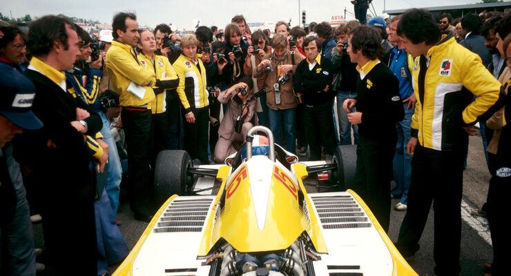 Jean-Pierre Jabouille - Renault RS11 - GP Frankreich 1979 - Dijon