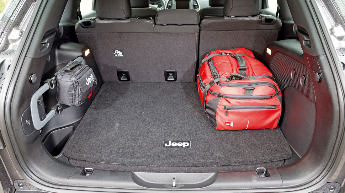 Jeep Cherokee 2.0 Multijet, Kofferraum