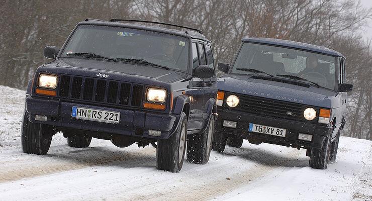 Jeep Cherokee 4.0 und Range Rover 3.9
