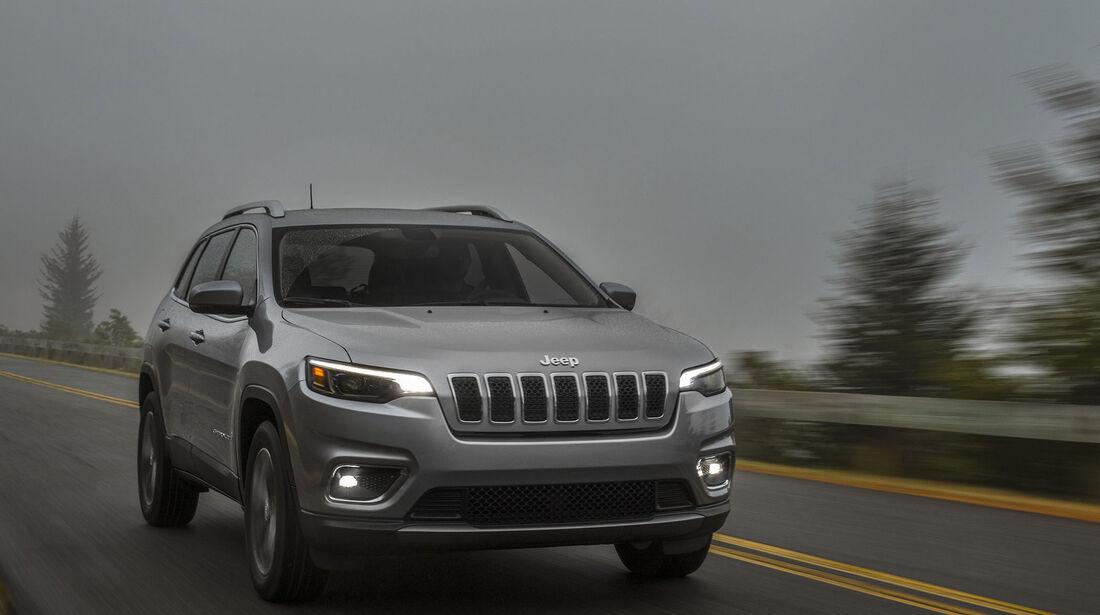 Jeep Cherokee Facelift Modelljahr 2018