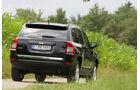 Jeep Compass 2.2 CRD Limited, Heck, Rückansicht