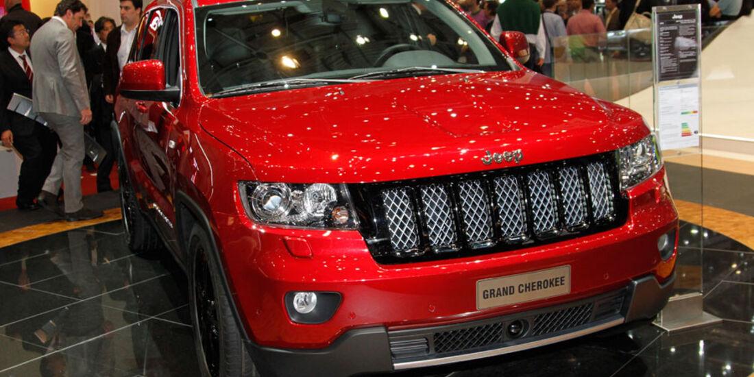Jeep Grand Cherokee, Autosalon Genf 2012