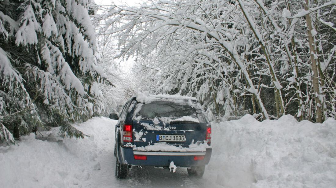 Jeep Grand Cherokee CRD Winter