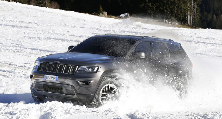 Jeep Grand Cherokee Trailhawk Facelift 2017 Fahrbericht
