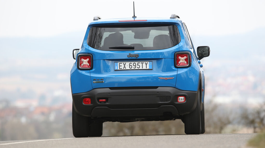 Jeep Renegade 2.0 Multijet Trailhawk, Heckansicht