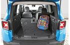 Jeep Renegade, Mini Countryman, Kofferraum