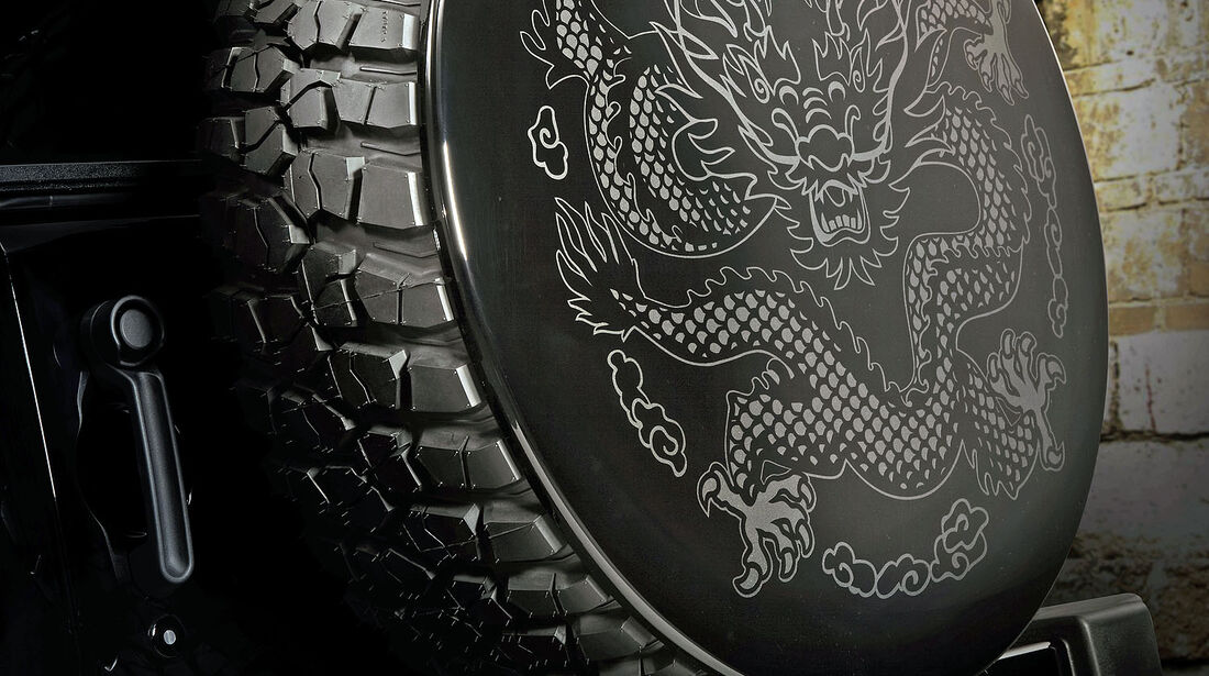 Jeep Wrangler Dragon Peking 2012