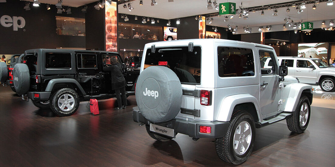 Jeep Wrangler, Paris 2010