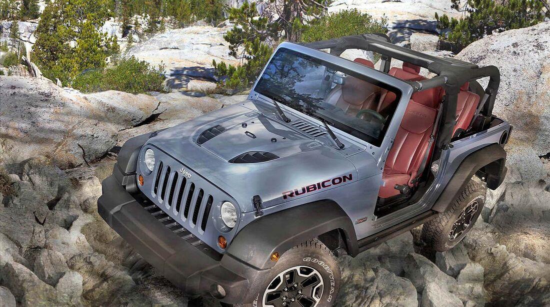 Jeep Wrangler Rubicon 10. Anniversary Europaversion