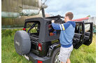 Jeep Wrangler Unlimited 3.6 V6 Sahara, Verdeck