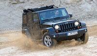 Jeep Wrangler Unlimited 3.6 V6 Sahara, Wasserdurchfahrt